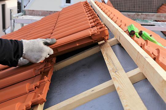 Installation couverture toiture