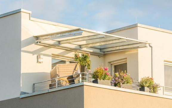 Terrasse toiture